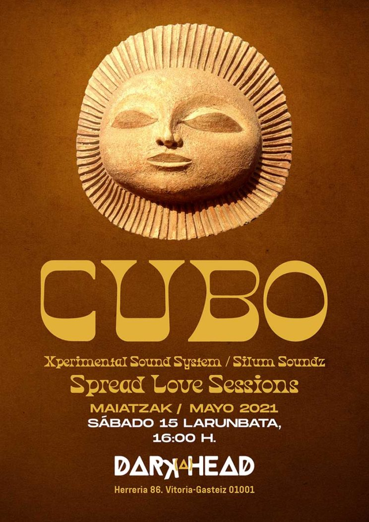 DJ Cubo Darkahead 15 mayo 2021